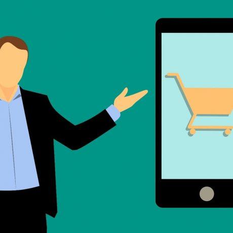 smartphone, shopping, shopping cart-3317374
